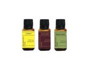 Beginner's Basics, 3 Essential Oils Collection, 15ml each, by RESURRECTIONbeauty