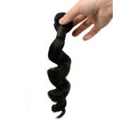 BLISSHAIR 7a Virgin Human Hair Bundles Remy Spring Wave Natural Black 46cm