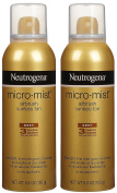 Neutrogena Micro-Mist Tanning Sunless Spray-160ml, 2 pack