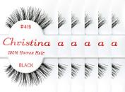 Christina 100% Human Hair False Eyelashes