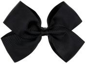 Capelli New York Girls Ribbon Bow Clip Black One Size