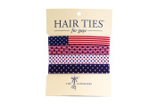 Hair Ties For Guys - The Old Glorys, No-damage Elastics for Men