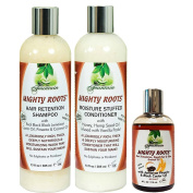 Fountain Mighty Roots Pimento JBCO 120ml with Shampoo and Conditioner 380ml Combo
