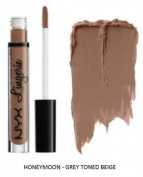SEOWTOYS Factory Sealed NYX Lip Lingerie Liquid Matte Lipstick Shade Honeymoon Grey Toned Beige