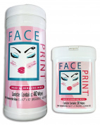 Face Print (New!) - Premium Makeup Remover Wipes Trial Pack 60ctSpecial Introductory Pricing