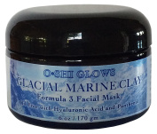 Glacial Marine Clay Formula 3 Facial Mask for Irritated Oily Acne Prone Skin and Refreshing, Nourishing, Healing and Rejuvenating for All Skin Types