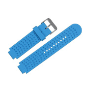 Bemodst® Garmin Generic Replacement Silicone Wrist Watch Band for Garmin Forerunner 220 230 235 630 620 735,6 Models Universal Soft Silicone Strap with Original Screw and Disassembling Tool
