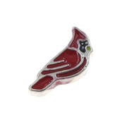 "Best Wing Jewellery ""Red Cardinal"" Floating Charm for Living Memory Glass Lockets"