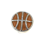 """Best Wing Jewellery """"Basketball"""" Floating Charm for Living Memory Glass Lockets"""