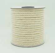 4mm Natural White Cotton Twisted Cord Craft Macrame Artisan String