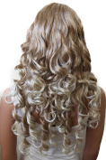 PRETTYSHOP Fashion Lady Wig long Hair curled Carnival Party Cosplay Disco Variation