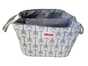 Danha White Arrow Nappy Storage Caddy