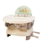 Summer Infant Deluxe Comfort FEEDING SEAT, 2 in 1 Folding Infant BOOSTER, Tan