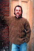 Patrick - Black Purl Knitting Pattern A13 - Pullover Sweater for Men