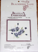 Woodland Wonder - Blackberry Lane Brazilian Embroidery pattern #124
