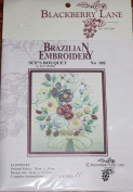Sue's Bouquet - Blackberry Lane Brazilian Embroidery pattern #108