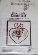 Hearts and Roses - Blackberry Lane Brazilian Embroidery pattern #122