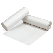 Pacon Newsprint Drawing Paper Roll, White, 0.6m by 0.3m