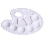Newcreativetop Paint Tray Palette 10 Pieces for Painting White