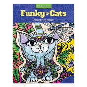 Wellspring Gift Colouring Book Funky Cats