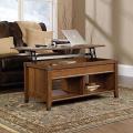 Carson Forge Lift-Top Coffee Table, Washington Cherry, 43.15 x 19.45 x 18.98