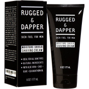 Moisture Shield Shaving Cream For Men - 180ml - Ultra Hydrating Formula for High Precision Pain-Free Shave - Natural & Premium Ingredients