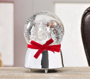 Giftcraft Chalet Chic Christmas Deer Design Musical Water Globe