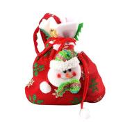 TOPUNDER Creative Home Party Christmas Souvenir Candy Bag Santa