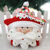TOPUNDER Christmas Cartoon Sofa Bed Home Decoration Festival Pillow