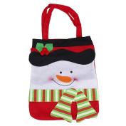 TOPUNDER Christmas Santa Decorative Gift Bag for Candy Stocking Filler