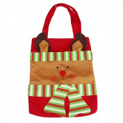 TOPUNDER Christmas Santa Decorative Gift Bag for Candy Stocking Filler