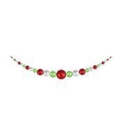Christmas by Krebs CBK55008 True Love / Limeade / Looking Glass 3.5m Shatterproof Hanging Garland