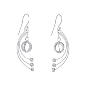 Annaleece Lilly Sterling Silver Hook Earrings