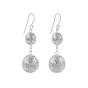 Annaleece Isabella Sterling Silver Hook Earrings