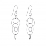 Annaleece Olivia Sterling Silver Hook Earrings