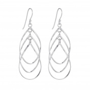 Annaleece Hailey Sterling Silver Hook Earrings