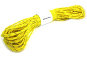 WINGONEER Yellow Reflective 550 Paracord Mil Spec Type III 7 strand parachute cord 30m