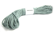 WINGONEER 550 Paracord Mil Spec Type III 7 strand parachute cord Silver Grey 30m