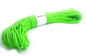 WINGONEER 550 Paracord Mil Spec Type III 7 strand parachute cord Fluorescent Green 30m