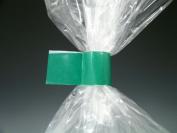 1.3cm x 180 yds. Bag Closing Tape - Green (2.4 mil) (12 Rolls) - AB-26-9-96G