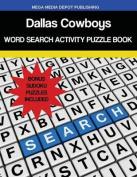 Dallas Cowboys Word Search Activity Puzzle Book
