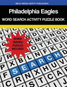 Philadelphia Eagles Word Search Activity Puzzle Book