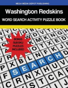 Washington Redskins Word Search Activity Puzzle Book