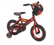 Huffy Disney Cars Bike with Training Wheels