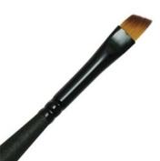 Best Mini Majestic Taklon Watercolour and Acrylic Brush Angular Shader 0