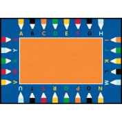 Learning Carpets ABC Pencils Rug