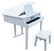 Schoenhut Toy Piano 379W 37 key White Concert Grand with Bench