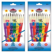 24 Brushes Total - Royal Langnickel Big Kids Choice Value Pack