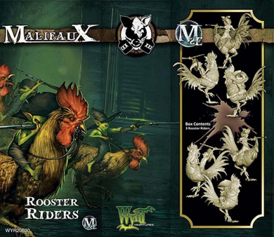 Malifaux - Gremlins - Rooster Riders