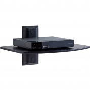 ECHOGEAR Steel Wall-Mounted AV Shelf Supports up to 6.8kg of Streaming Devices, Game Consoles, and Cable Boxes - EGAV1